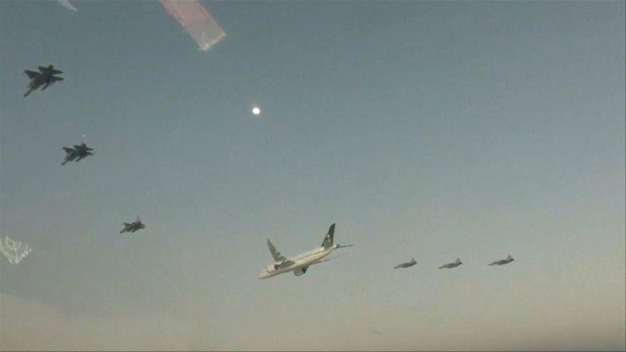 عکس گرفته شده از ویدئوی خبرگزاری فرانسه