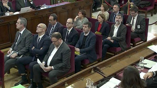 """Este martes se reanuda el juicio contra los líderes del """"procés"""""""