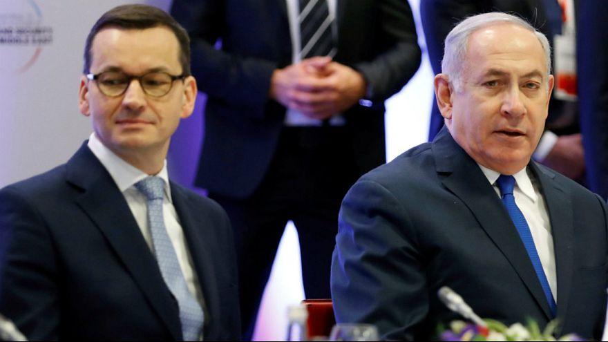 نخست وزیران اسرائیل و لهستان