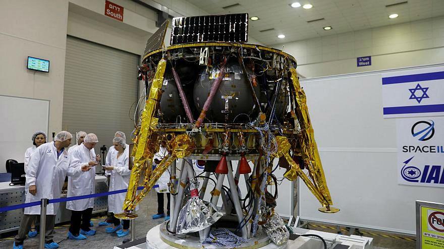 İsrail Ay'a göndermek istediği uzay mekiği Beresheet için gün sayıyor