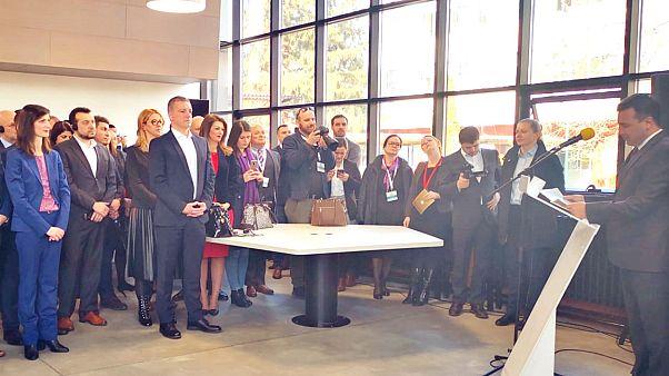 Ζάεφ: Η Ελλάδα βοηθά στον ψηφιακό μετασχηματισμό της Β. Μακεδονίας