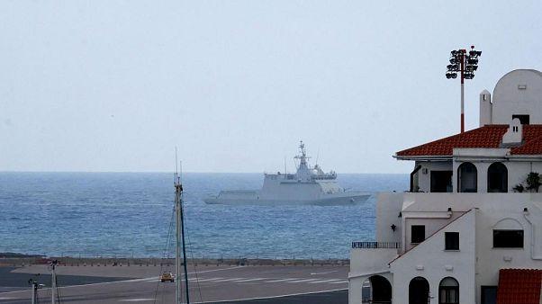 Gibraltar denuncia la incursión de un buque de la Armada que España niega