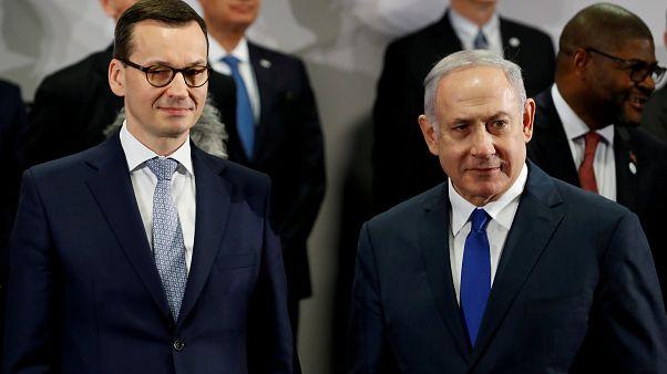 Morawiecki e Netanyahu, il 14 febbraio 2019, a Varsavia.