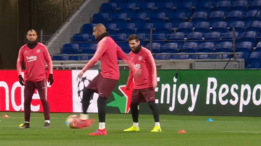 El FC Barcelona visita al Olympique de Lyon en la Liga de Campeones
