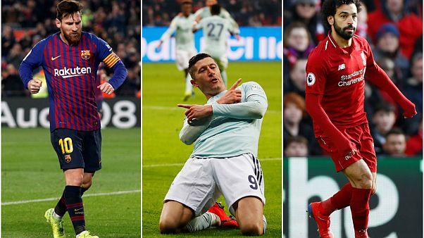 Şampiyonlar Ligi'nde golcülerin gecesi: Messi, Lewandowski ve Mo Salah sahaya çıkıyor