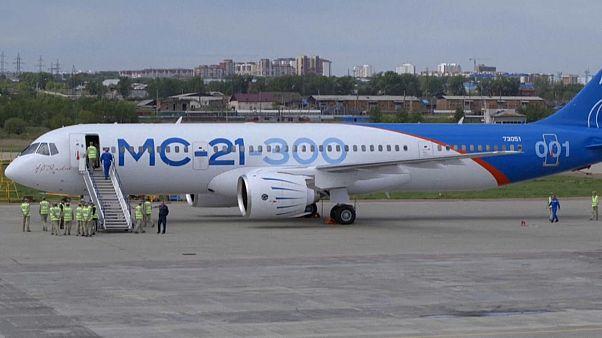 МС-21 перед тестовым полётом в мае 2017