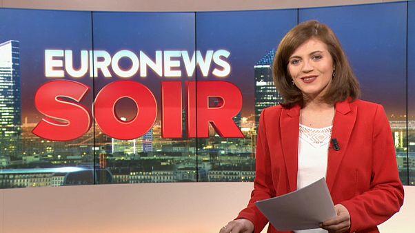 Euronews Soir : l'actualité du 18 février