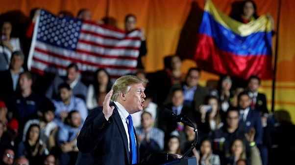 ترامپ: دنیا صدای زیبای مردم ونزوئلا را شنید