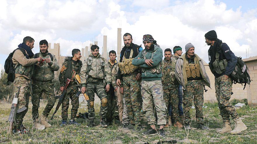 SDG Suriye'de bin 500 yabancı askerin kalmasını istiyor
