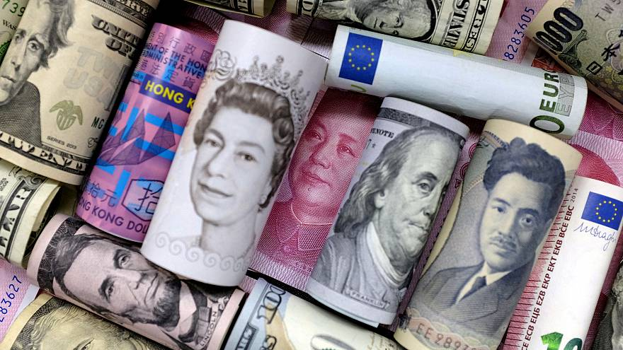 مجموعة من العملات الدولية
