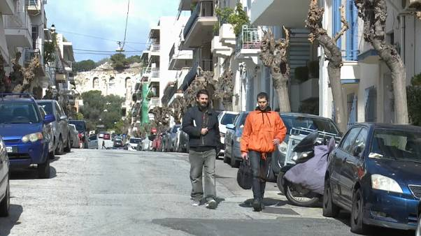 "Residents of Athens suburb claim that Airbnb is ""pricing them out""."