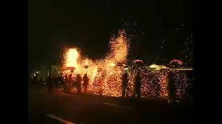 شاهد مهرجان فوانيس الربيع الصيني.. حكايةُ بهجةٍ وفرح