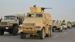 """وسائل إعلام رسمية مصرية: مقتل 16 """"إرهابياً"""" في عمليتين شمال سيناء"""