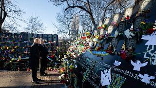 Ukraine: Tusk gedenkt Opfern von Maidan-Revolution