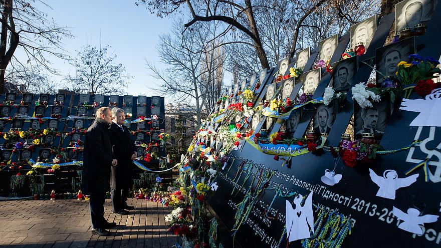 Donald Tusk pledges support to Ukraine