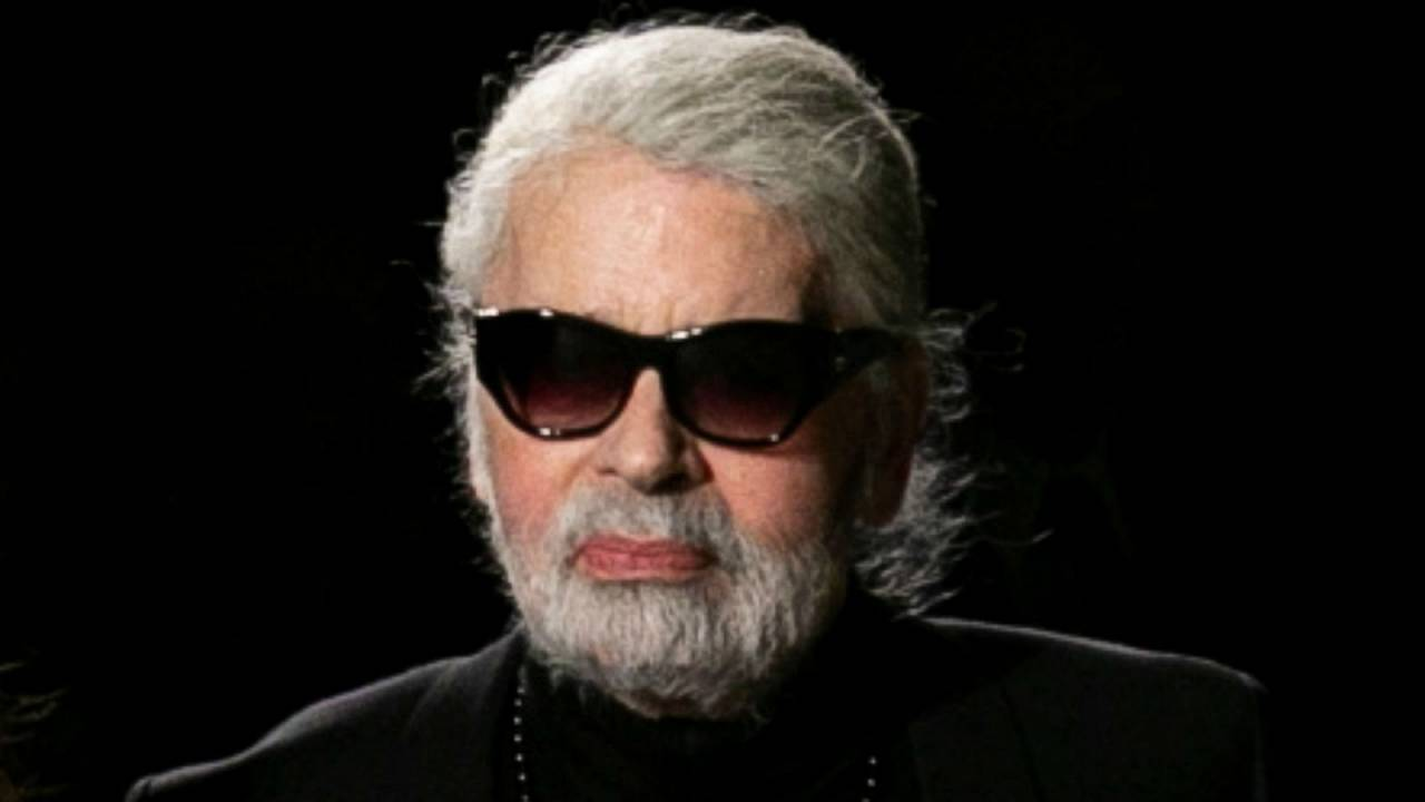 Karl Lagerfeld, New York, 4 décembre 2018.