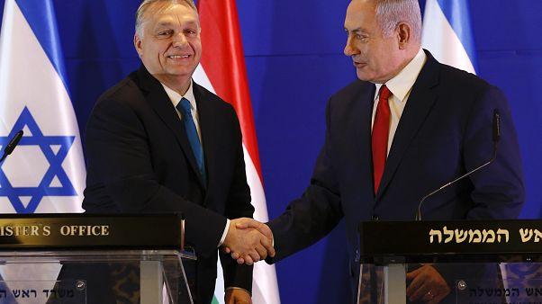 Orbán az EP-választások tétjéről beszélt Jeruzsálemben