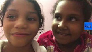Josmeli et sa sœur Emily