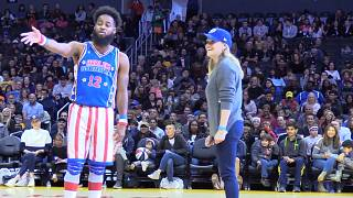 Reese Witherspoon tanzt bei den Harlem Globetrotters