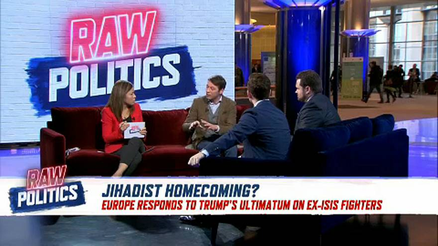 Raw Politics: Will EU leaders allow ISIS fighters to return?