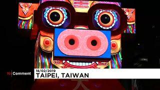 Fényfesztivál Tajvanon