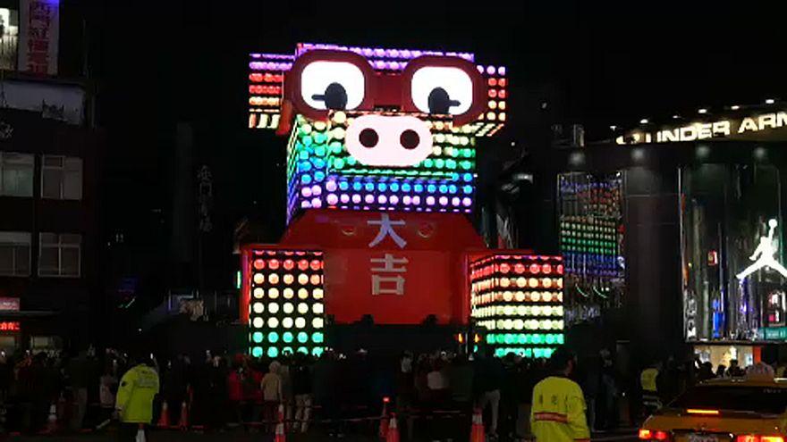 جشن نور مدرن در تایوان