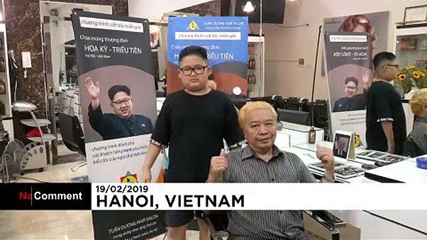 Qual o melhor penteado? O de Kim Jong-un ou o de Donald Trump?