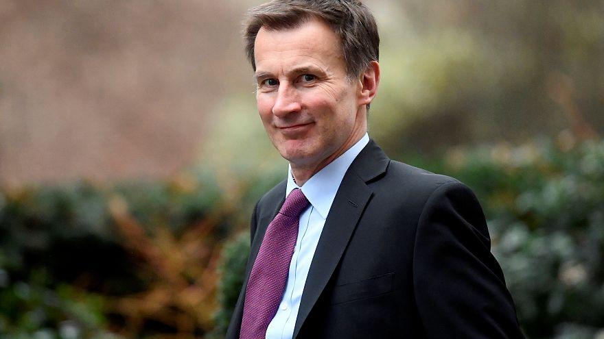 وزير الخارجية البريطاني جيريمي هنت
