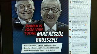 Újabb plakátkampány Brüsszel ellen
