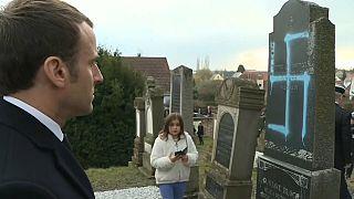 Macron au chevet de la communauté juive de Quatzenheim