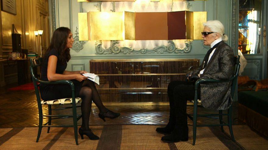 Lagerfeld, l'Europa e la Brexit nell'intervista a Euronews
