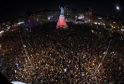 """""""Es reicht!"""" Franzosen demonstrieren gegen Antisemitismus"""