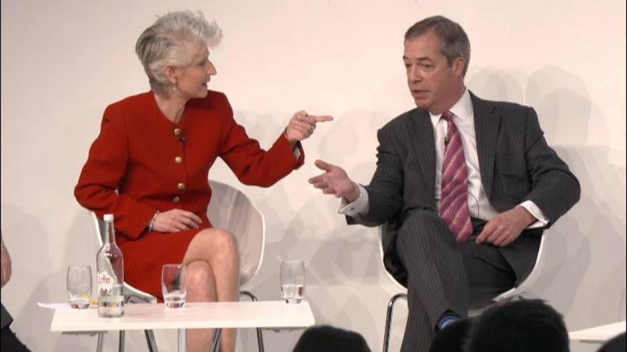 Populism or democracy? Swedish MEP takes on Nigel Farage in Euronews panel
