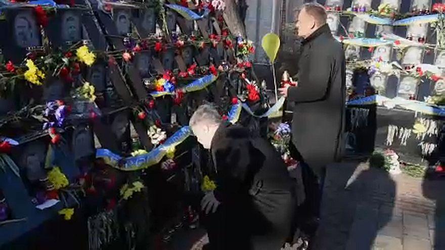 """Tusk: """"csak az nevezheti magát európainak, aki szolidáris Ukrajnával"""""""