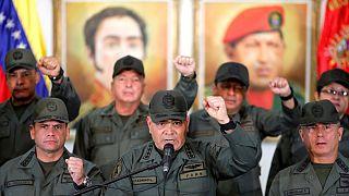 اعلام حمایت ارتش ونزوئلا از مادورو