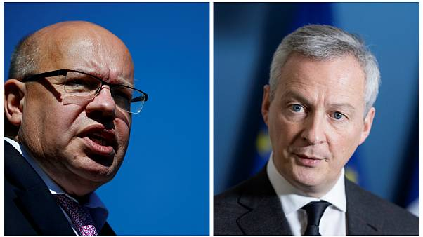 وزير الاقتصاد الألماني بيتر ألتماير ونظيره الفرنسي برونو لو مير