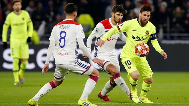 Dominio sin frutos para el FC Barcelona en la Liga de Campeones