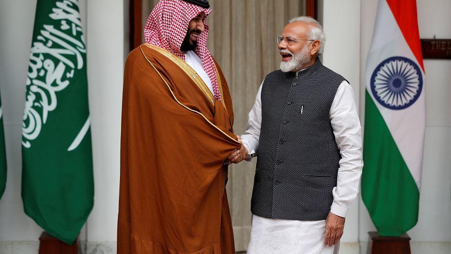ولي العهد السعودي: نتوقع أن تفوق الاستثمارات في الهند عتبة 100 مليار دولار