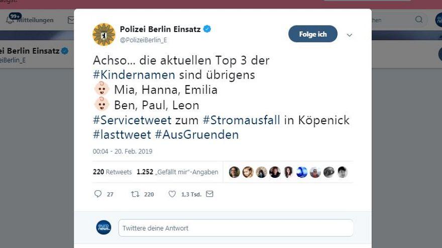 Stromausfall in Berlin – 11 der besten Tweets