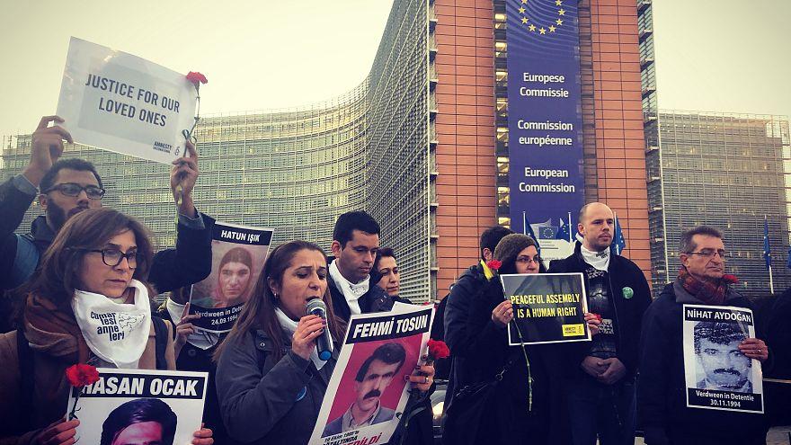 Cumartesi Anneleri Brüksel'de: 'Pes etmeyeceğiz'