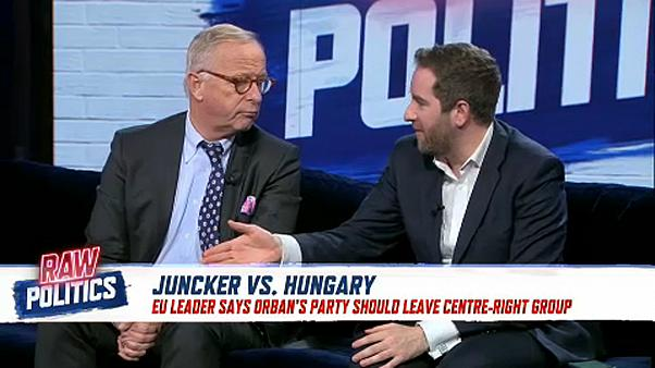 Raw Politics in full: More conservative MPs resign, Juncker-Orbán feud and battle of the bands