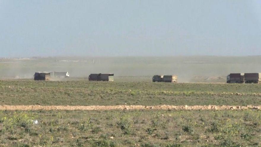 Menekítik a civileket Baghouzból