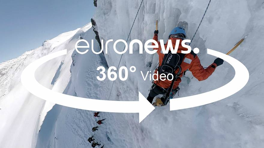 """Vidéo 360° : suivez les secouristes espagnols en """"exercice avalanche"""""""