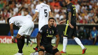 Sami Khedira bei einer Begegnung gegen Valencia.