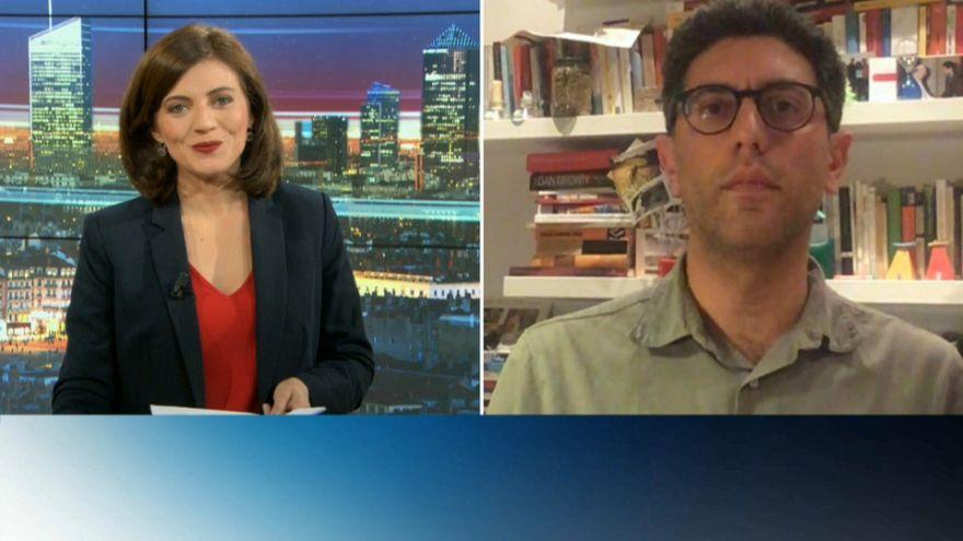 Anne-Lise Fantino, Euronews et Iacaopo Scaramuzzi, vaticaniste