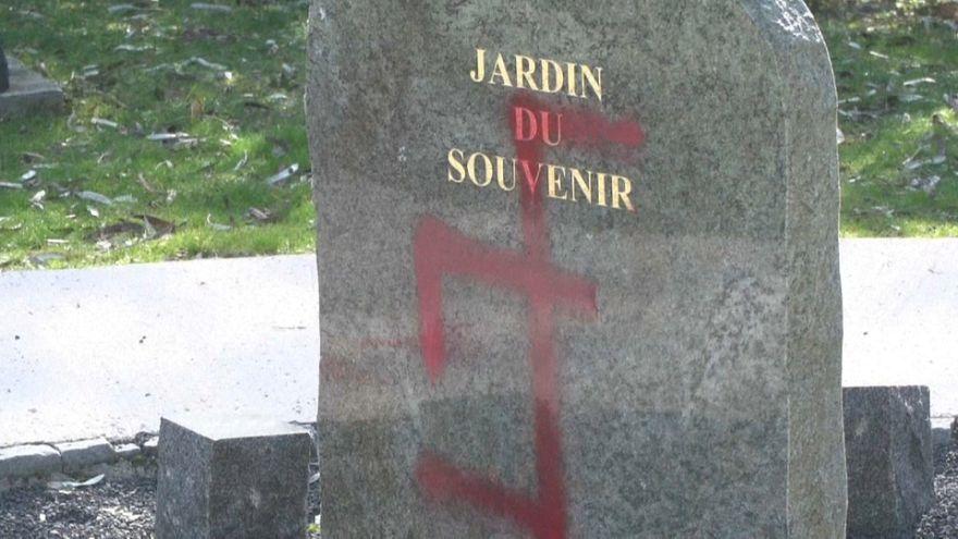 Nouveaux tags antisémites dans cimetière en France