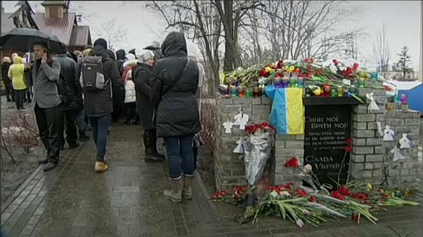 Victims of Ukraine's deadly revolution remembered five years on