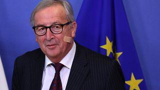 """""""Breves de Bruxelas"""": Juncker contra Orbán, nuclear, Jerusalém, ciberataques"""