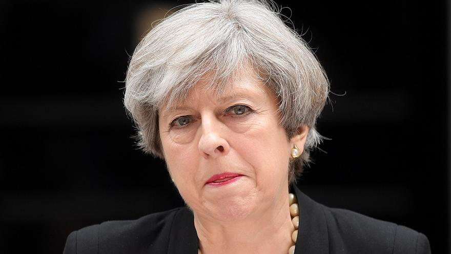 رئيس الوزراء البريطانية تيريزا ماي