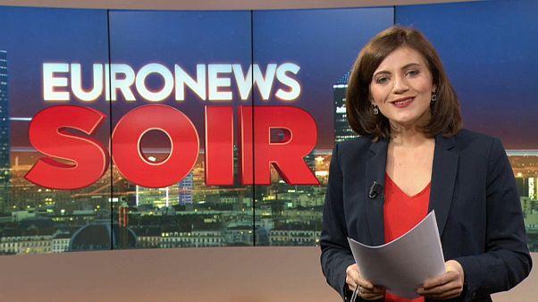 Euronews Soir : l'actualité du 20 février